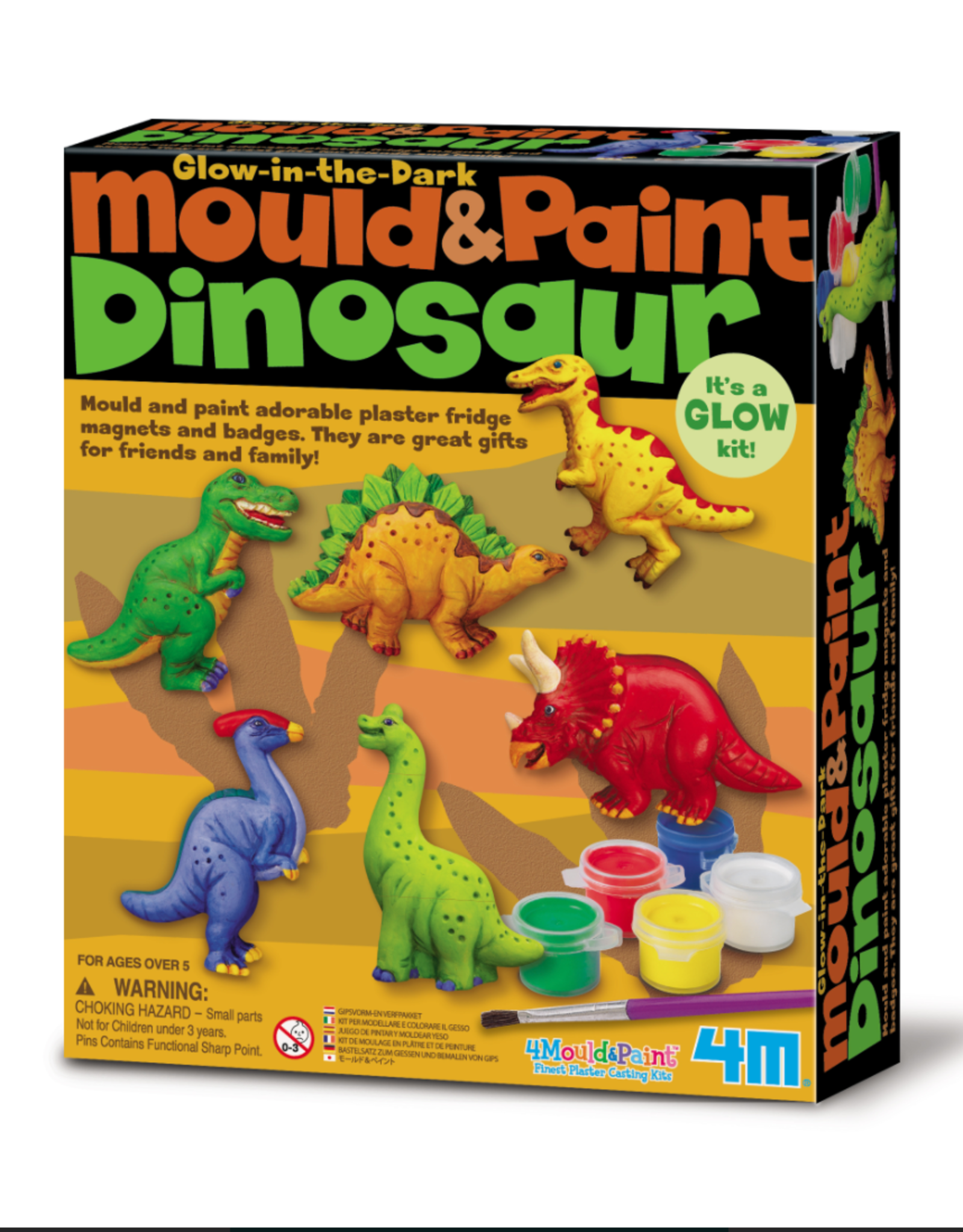 Toysmith Mould & Paint Dino