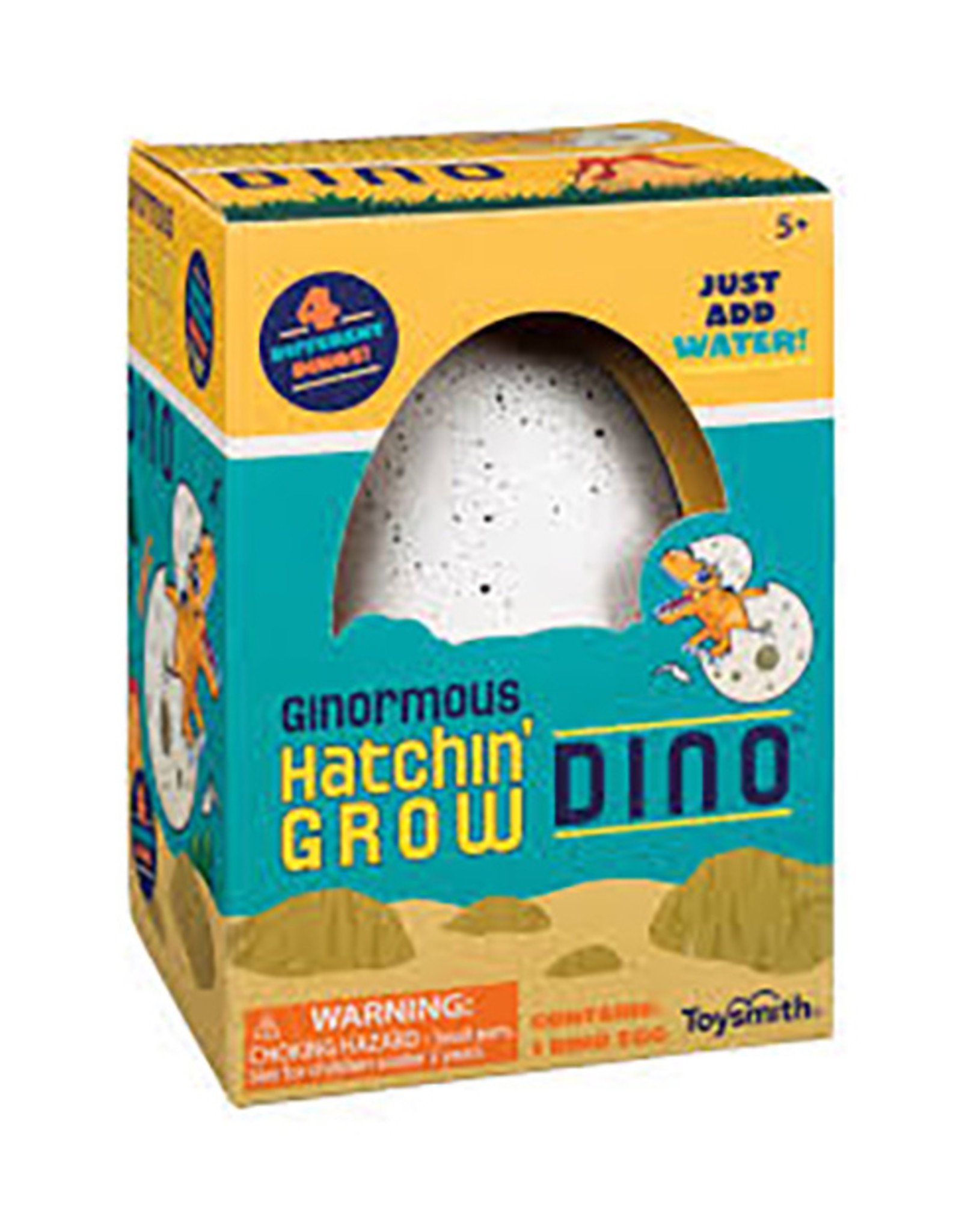 Growing Dino in Egg