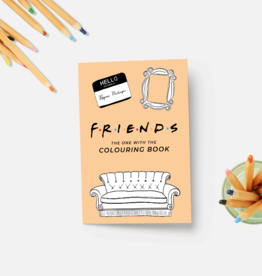 Coloring Book: Friends