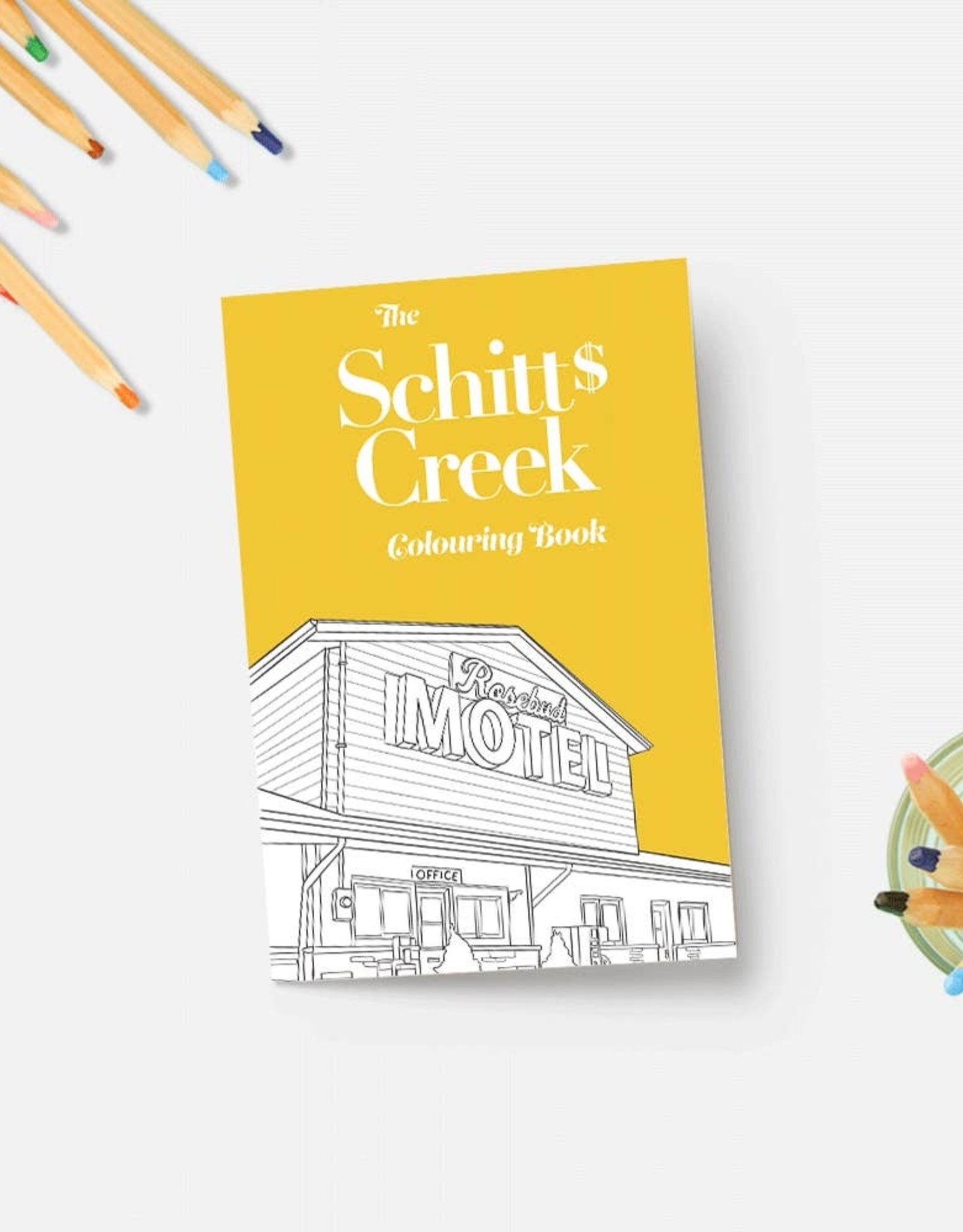 Coloring Book: Schitt's Creek
