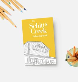 Party Mountain Paper Coloring Book: Schitt's Creek