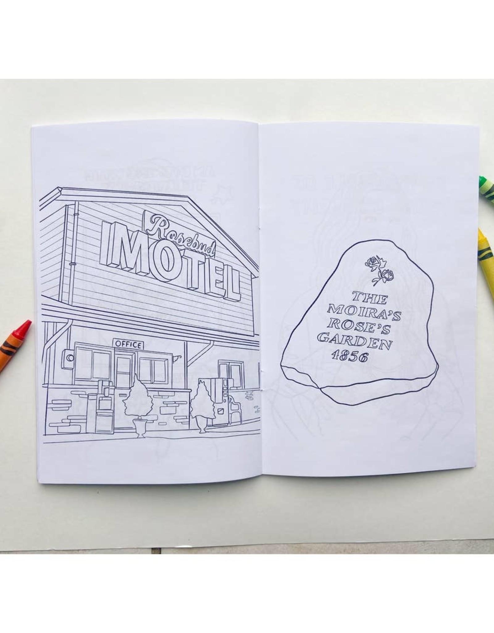 Party Mountain Paper Coloring Book: Schitt's Creek