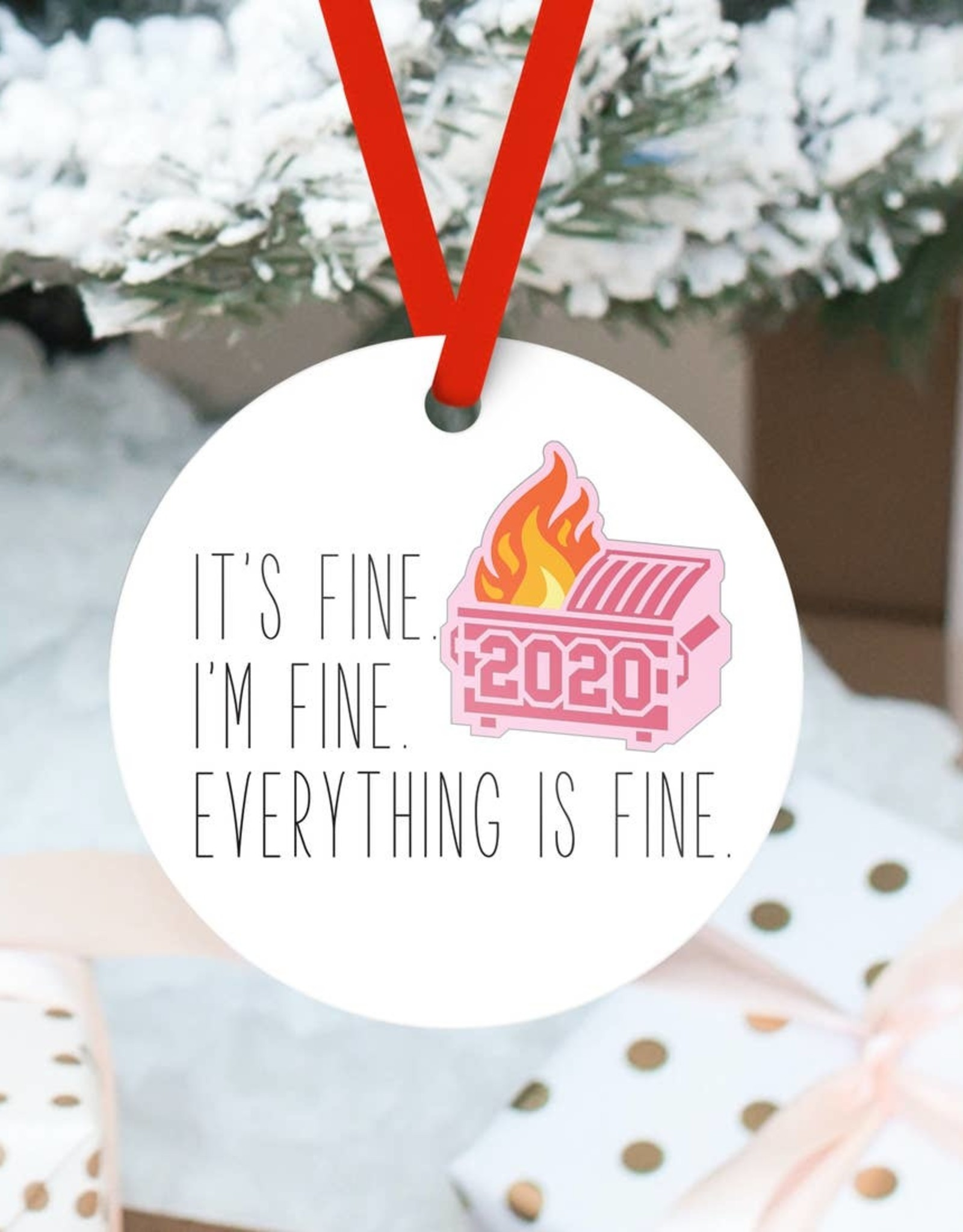 Ornament: 2020 Dumpster Fire