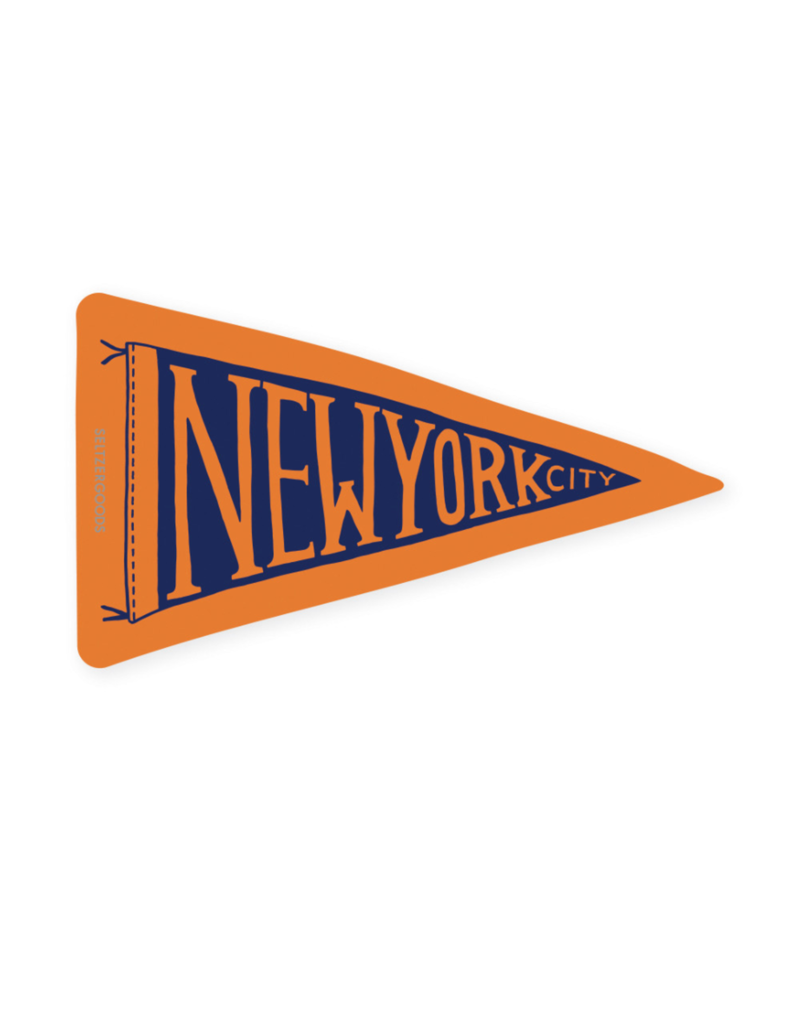 Seltzer Goods Sticker: New York City Flag