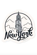 Sticker: New York City Empire State Building
