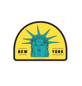 Sticker: New York City Liberty