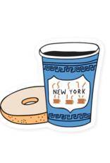 Sticker: New York City Coffee