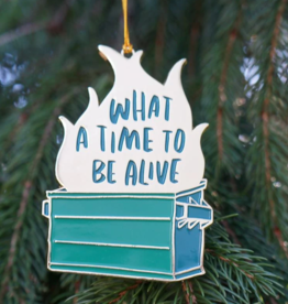 Ornament: Year to be Alive Dumpster Fire