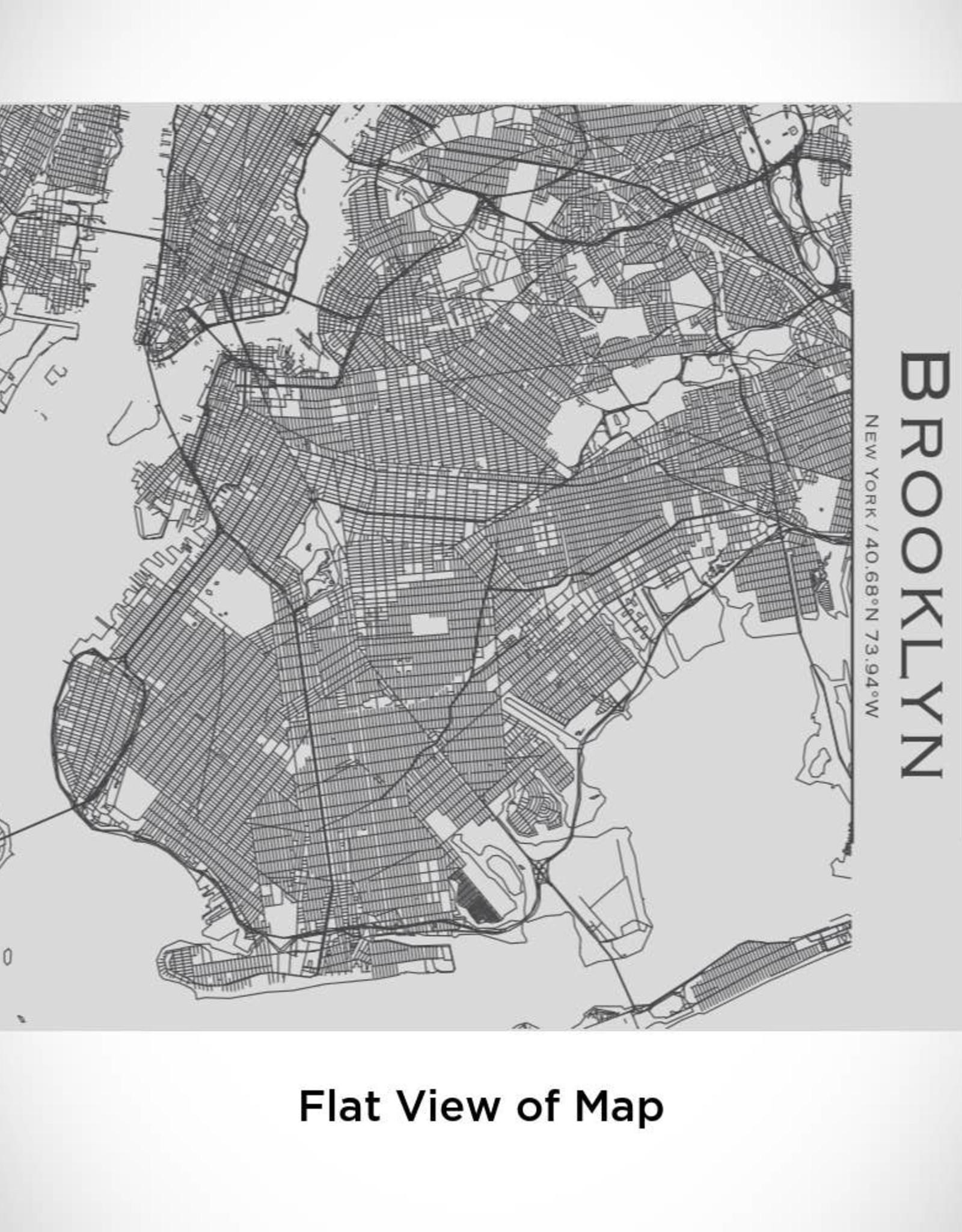 Brooklyn Map Tumbler