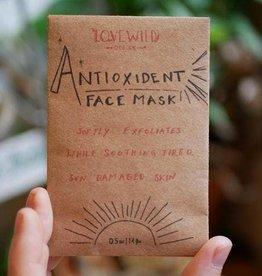 Love Wild Design Face Mask: Antioxidant