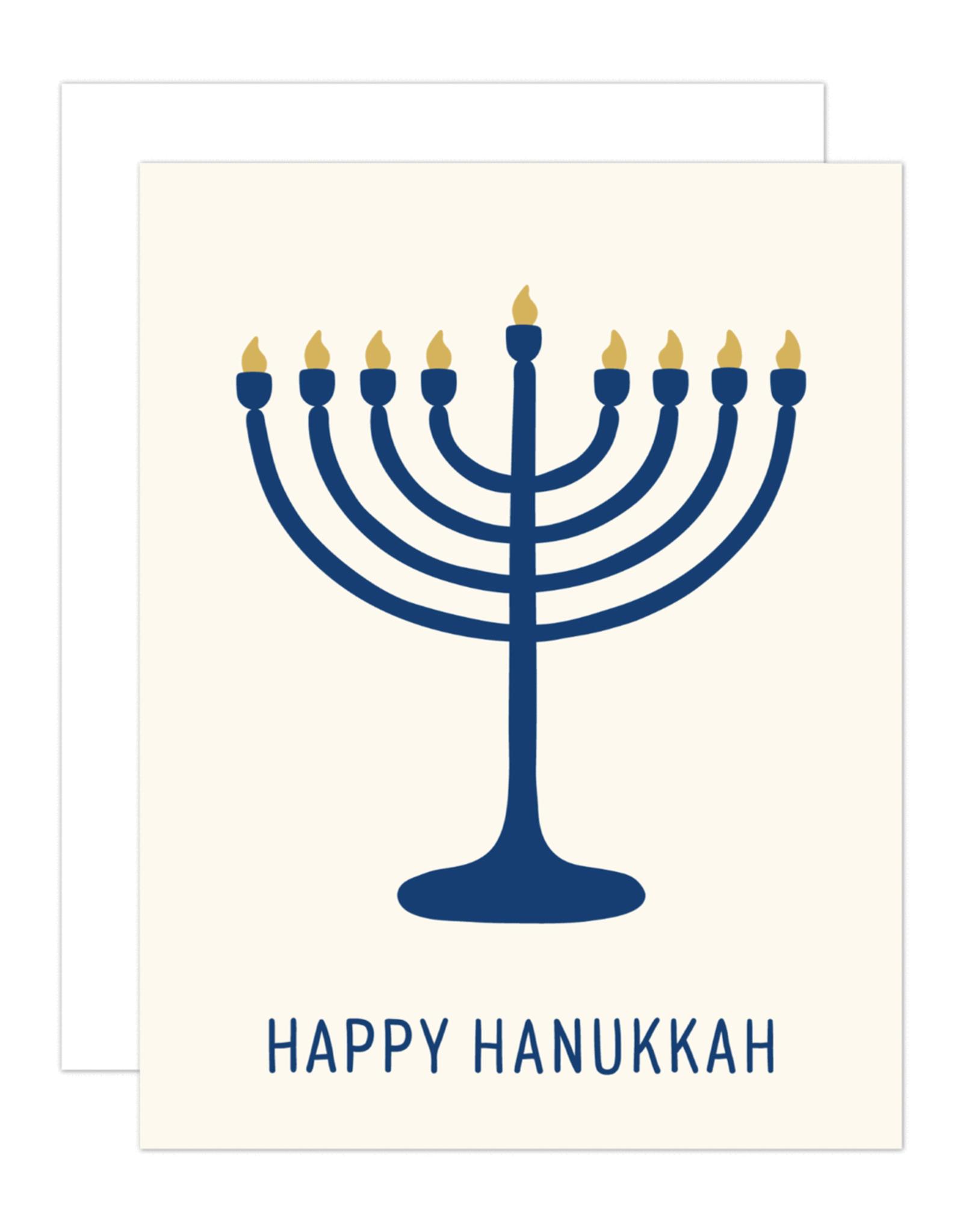 Card - Holiday: Menorah