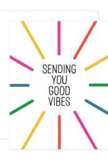 Card - Blank: Good Vibes