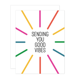 Card - Blank: Good Vibes