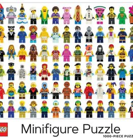 Chronicle Books Puzzle: Lego Minifigure 1000 piece