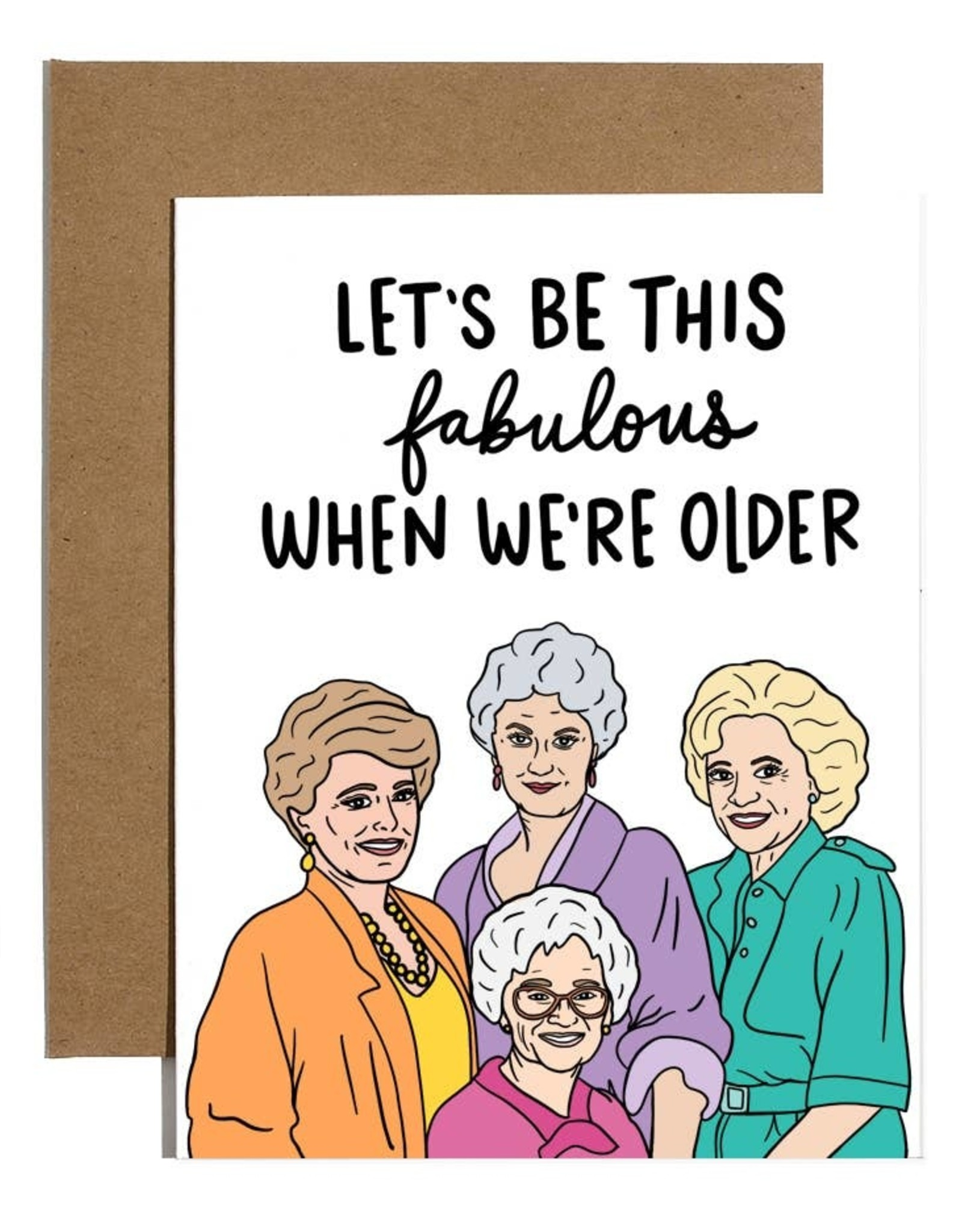 Brittany Paige Card: Blank - Golden Girls Fabulous