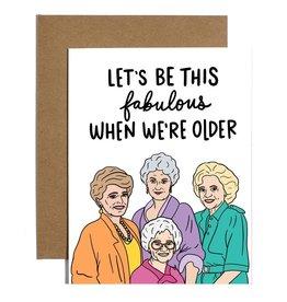 Card: Blank - Golden Girls Fabulous