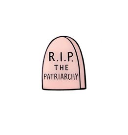 Brittany Paige Enamel Pin: RIP The Patriarchy