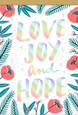 Card - Holiday: Love Joy and Hope