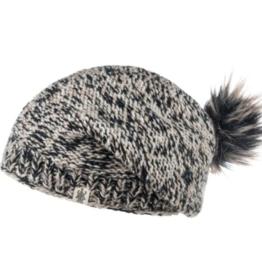 Nirvana Designs Inc Hat: Bedford Slouch - Bl/Wh/Oat
