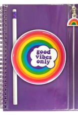 Journal: Good Vibes Only Rainbow