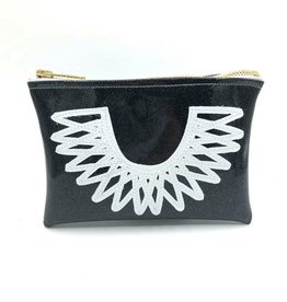 Julie Mollo Midi Clutch: RBG Collar