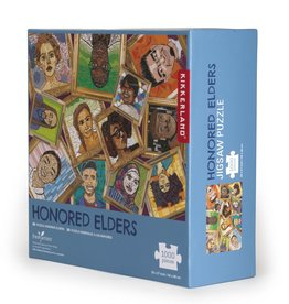 Kikkerland Puzzle: Honored Elders 1000 pieces