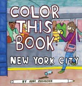 Chronicle Books New York Coloring Book