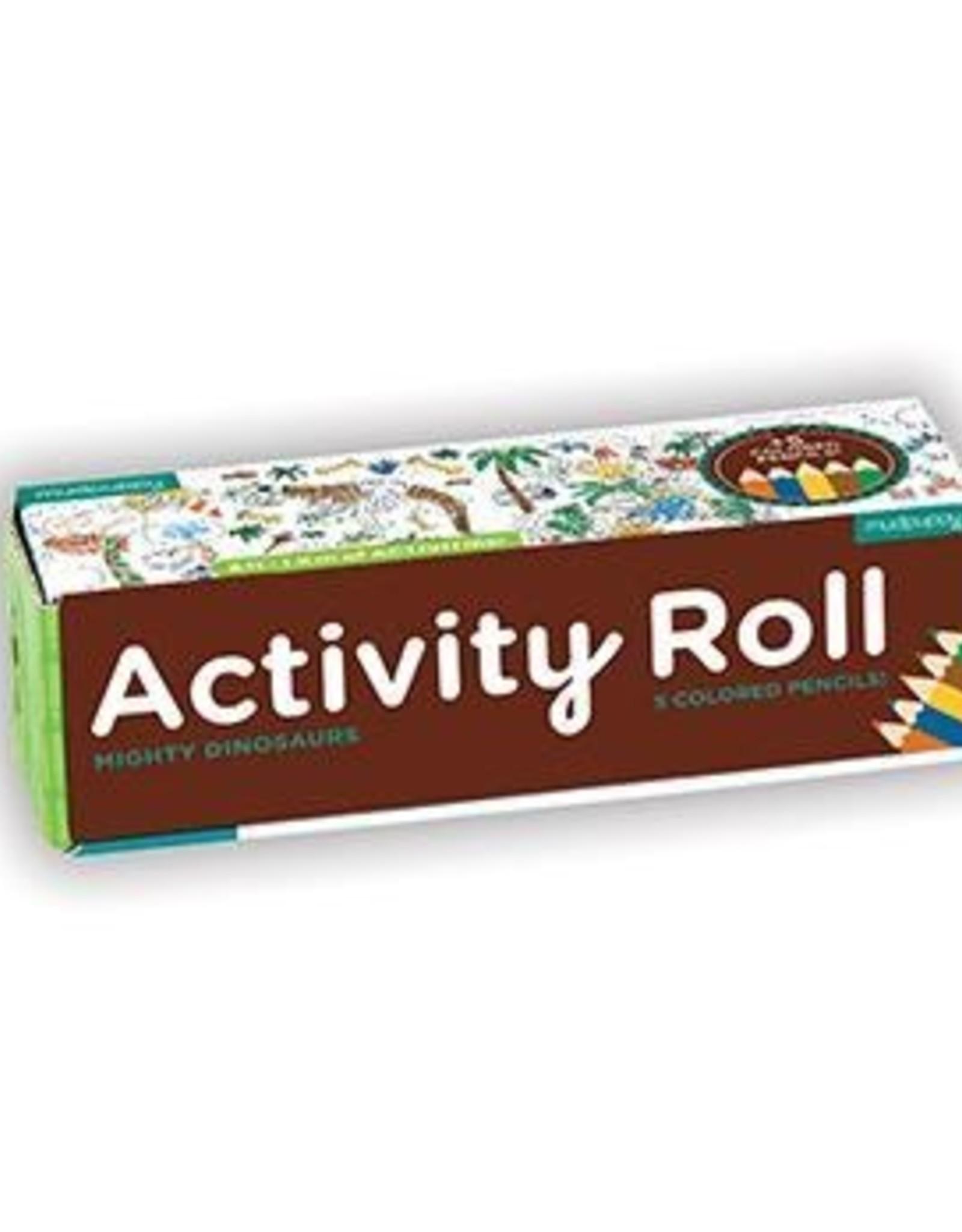 Chronicle Books Activity Roll: Mighty Dinosaur