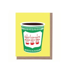 Card - Holiday Boxed: NYC Christmas Coffee (8)