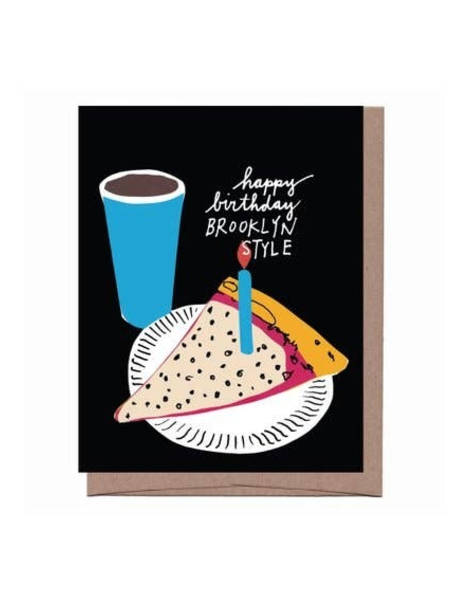 Card - Birthday: Brooklyn Style