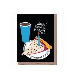 Card - Birthday: Brooklyn Style