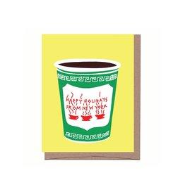 Card - Holiday: NYC Christmas Coffee