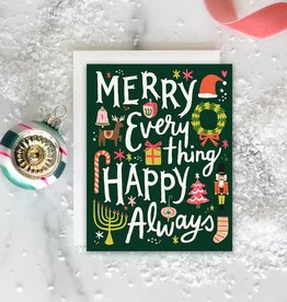 Boxed Cards - Holiday: Merry Happy Everything (8)