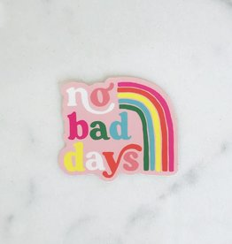 Idlewild Co. Sticker: No bad days