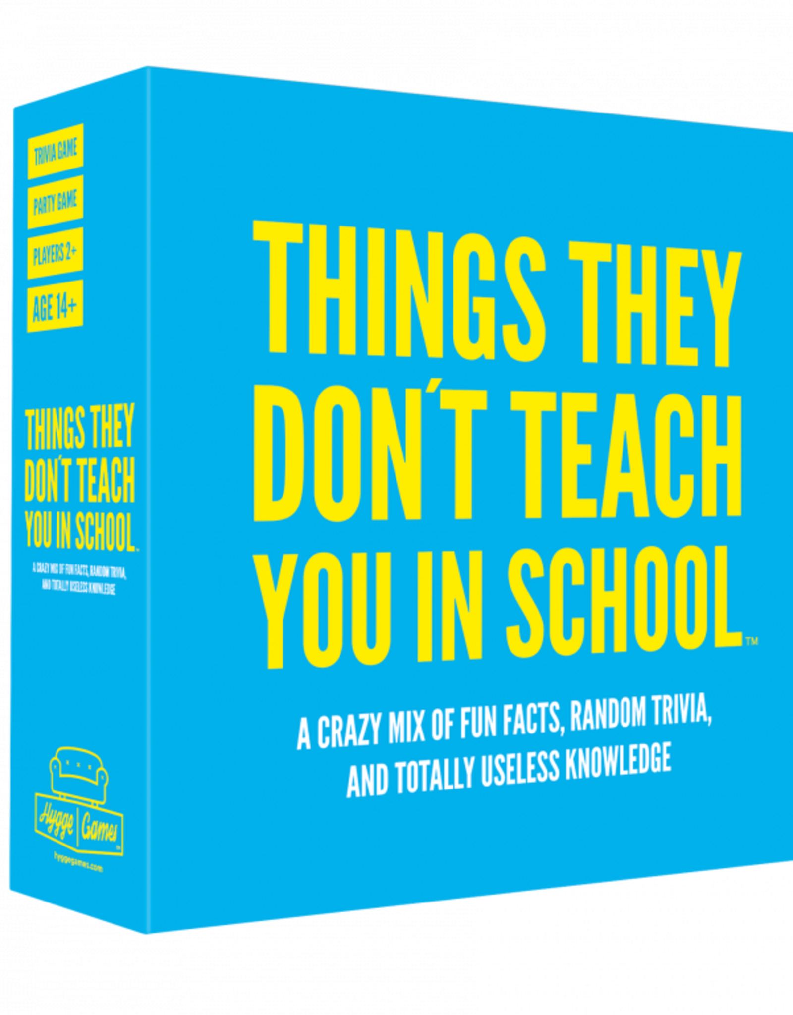 Game: Things they don't teach you