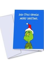 Card - Holiday: 2020 Grinch