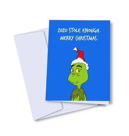 kaleidodope Card - Holiday: 2020 Grinch