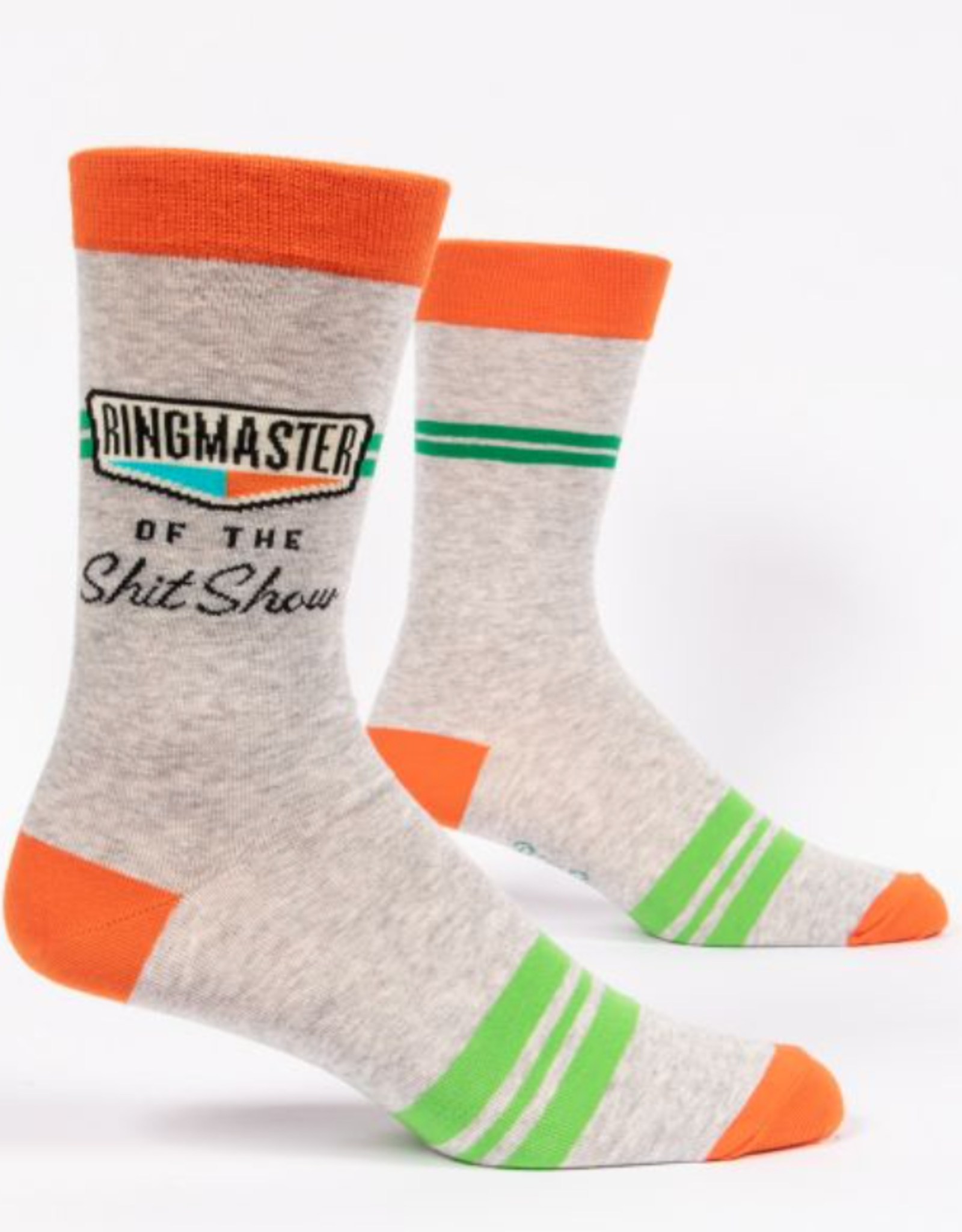 Blue Q Men's Socks - Ringmaster Shit Show