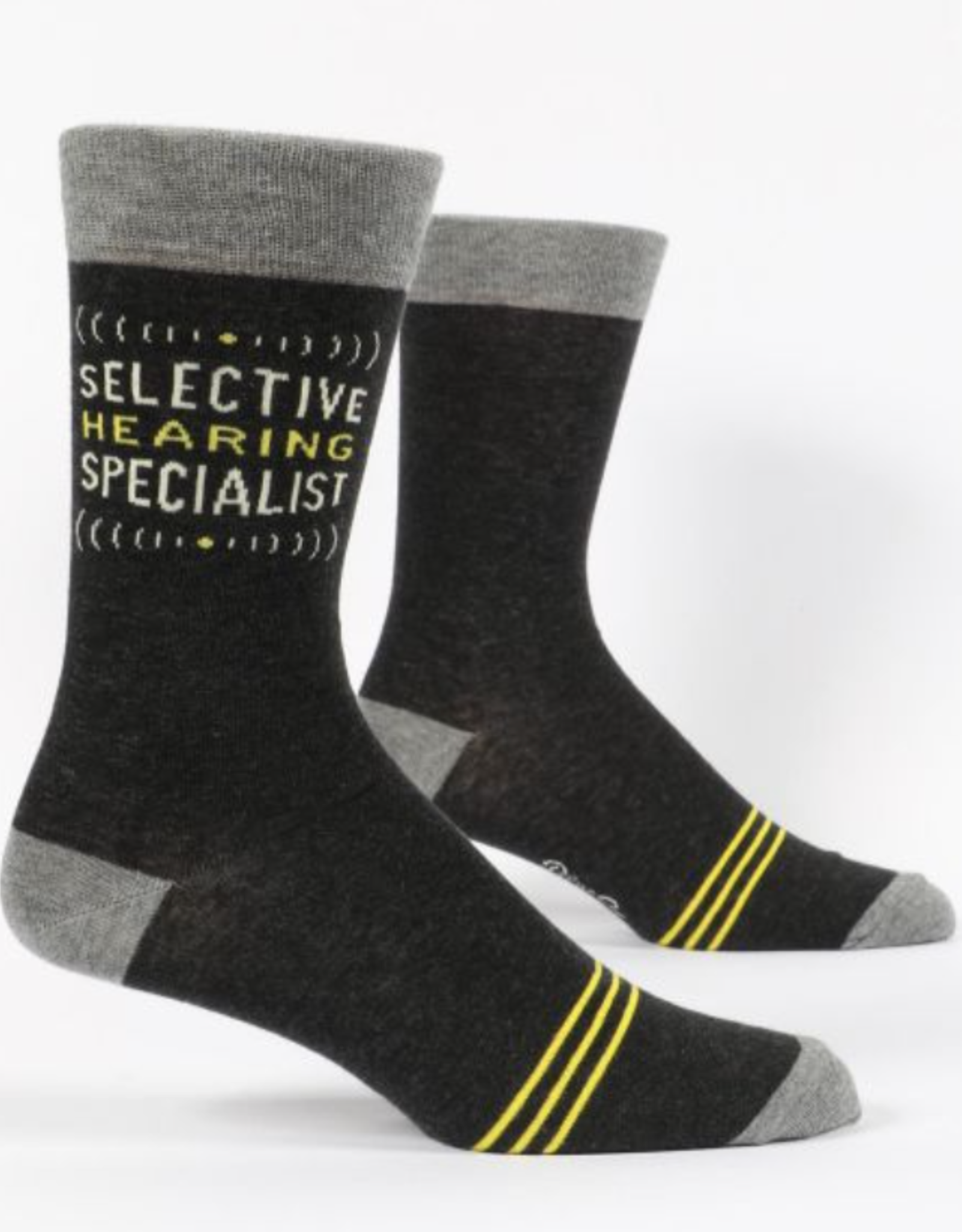 Blue Q Socks - Mens Selective Hearing