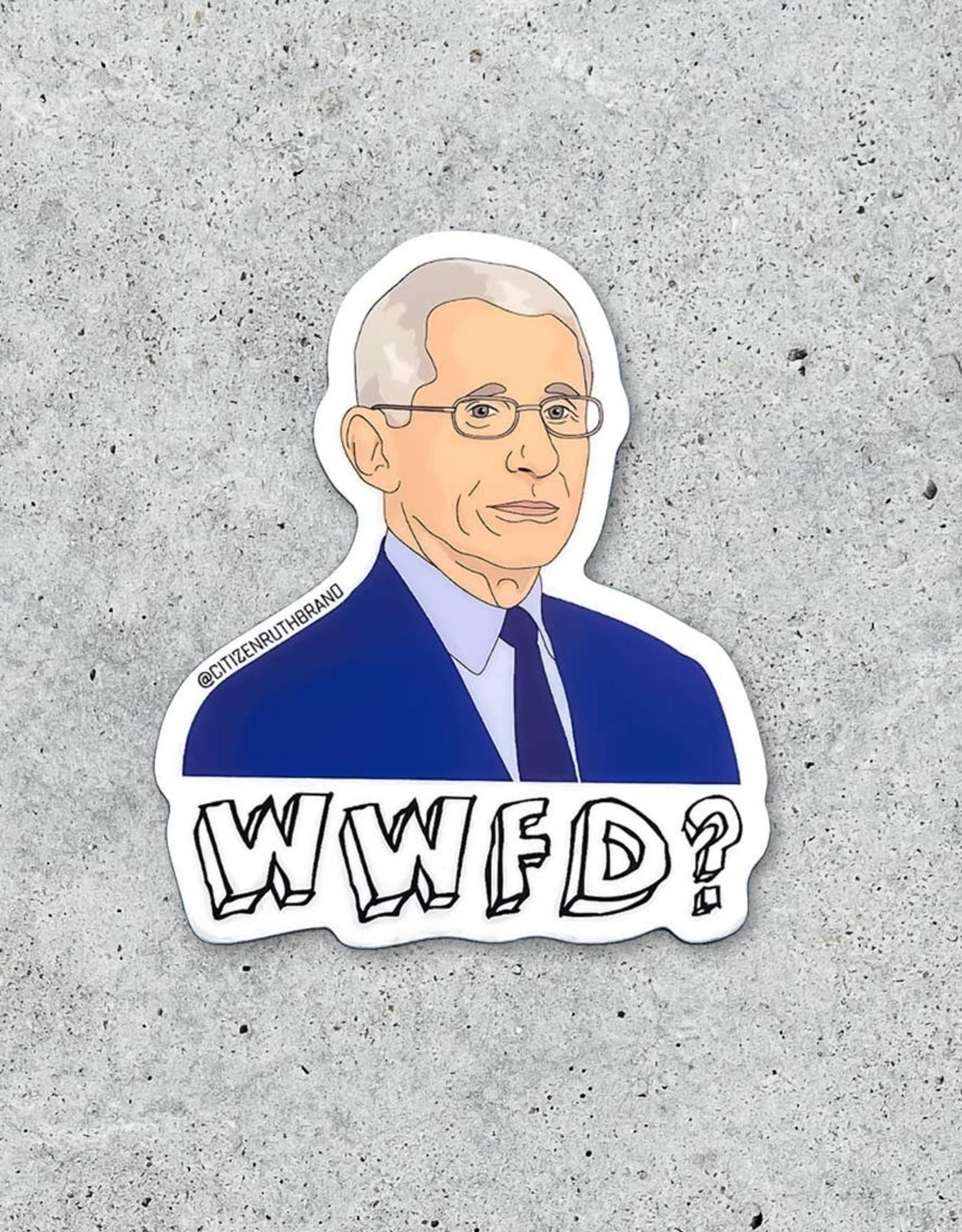 Citizen Ruth Sticker: Fauchi