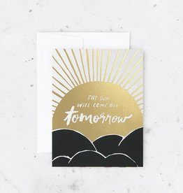 Idlewild Co. Card - Blank: The sun will come out tomorrow