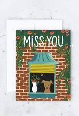 Card - Blank: Miss You