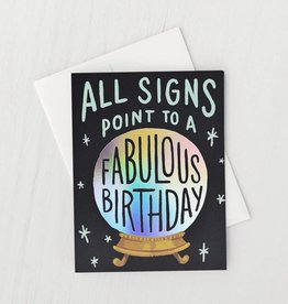 Idlewild Co. Card - Birthday: All signs point to fabulous