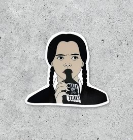 Citizen Ruth Sticker: Wednesday Adams