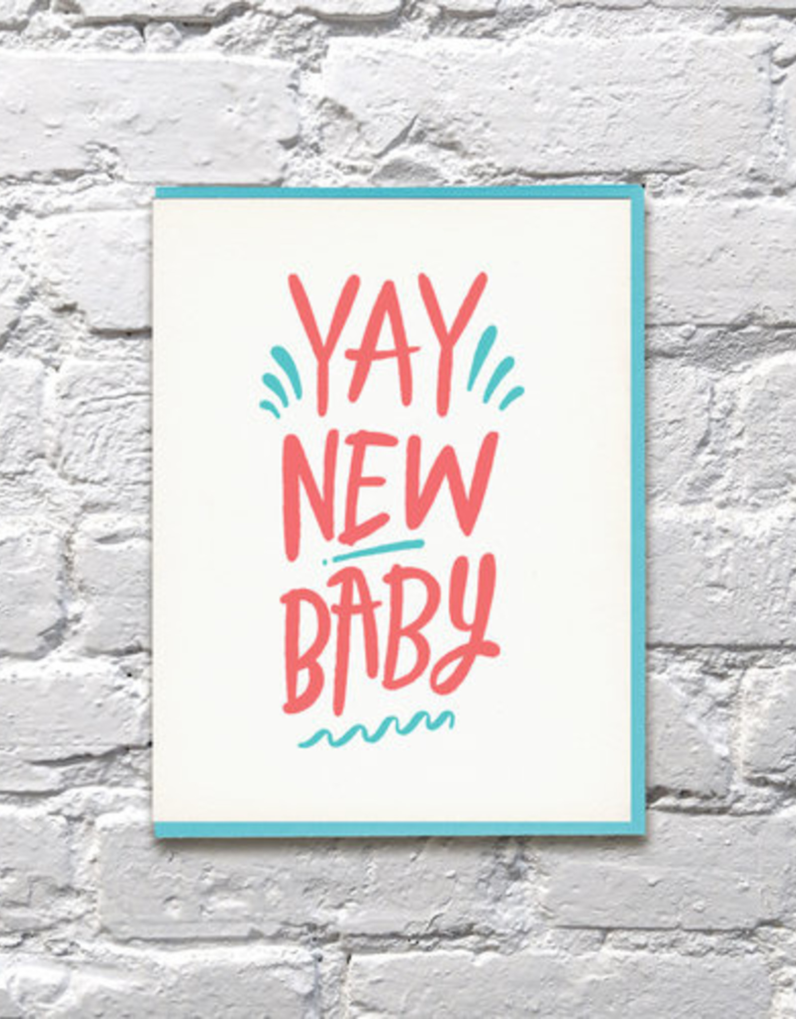 Card - Baby: Yay new baby