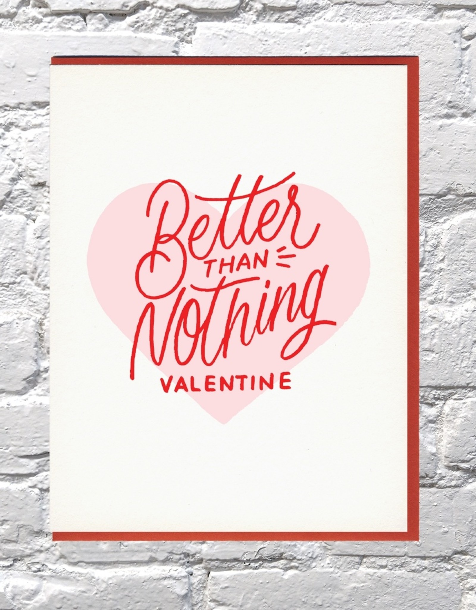 Card - Love: Better than nothing