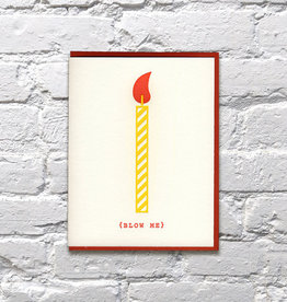 Bench Pressed Card - Birthday: Blow Me