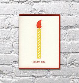 Card - Birthday: Blow Me