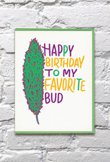Card - Birthday: Favorite Bud
