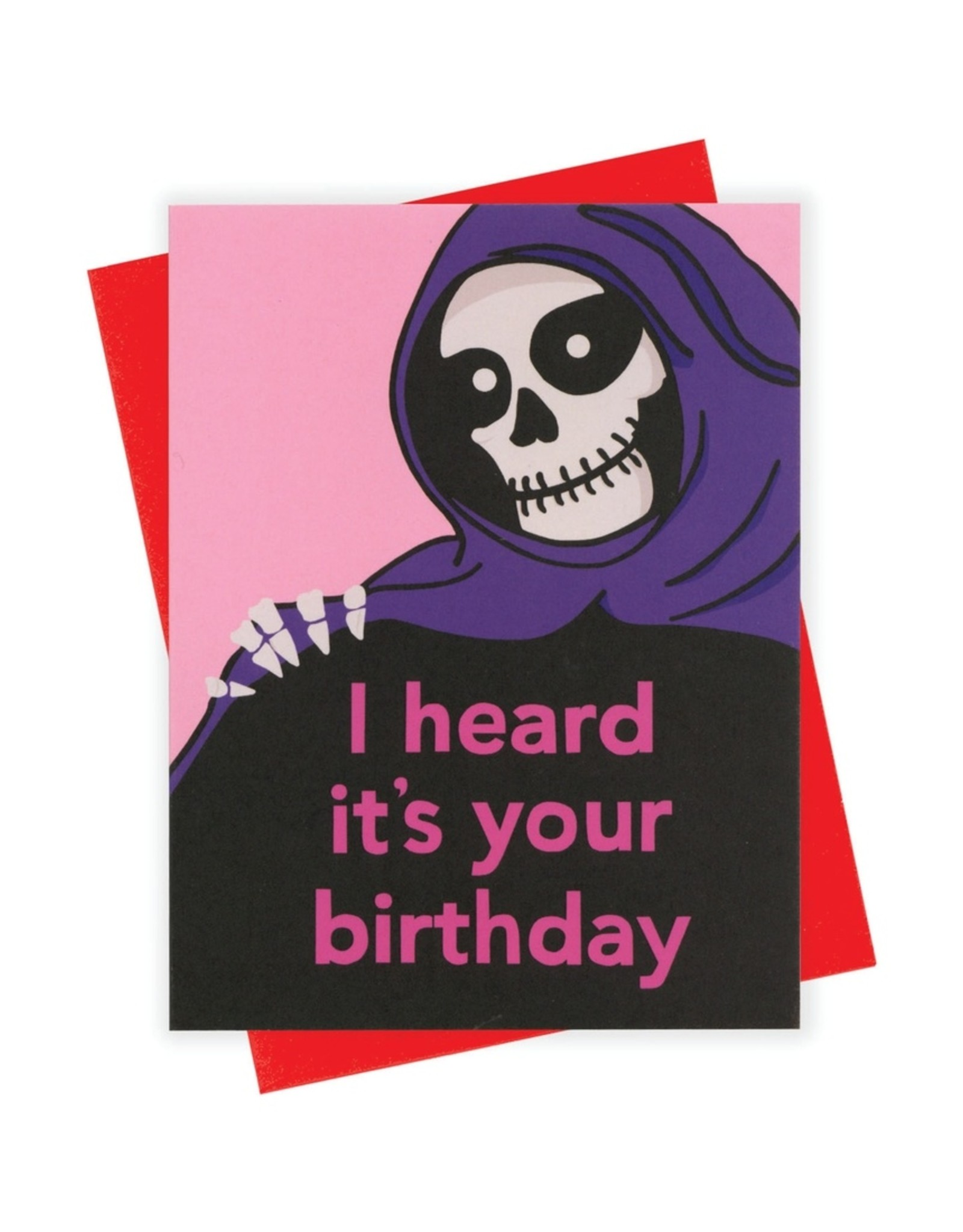 Card - Birthday: Reaper
